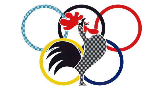 Le Coq Sportif Logotipo 1960-1965