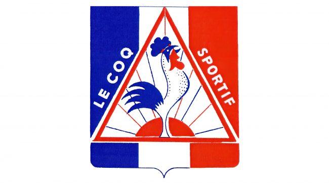 Le Coq Sportif Logotipo 1965-1966