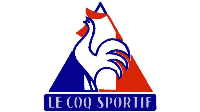 Le Coq Sportif Logotipo 1966-1968
