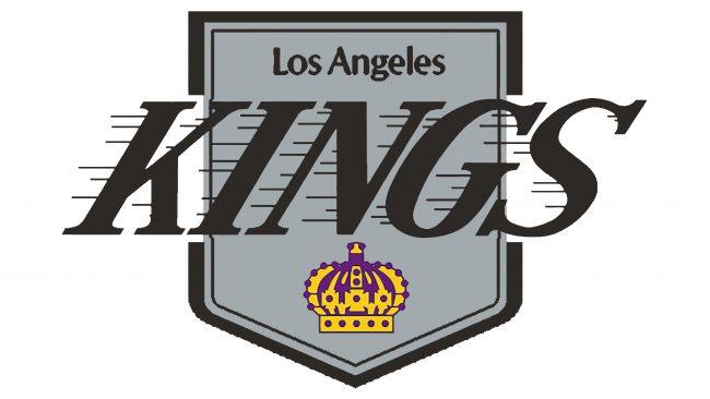 Los Angeles Kings Logotipo 1987-1988
