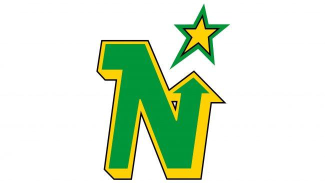 Minnesota North Stars Logotipo 1985-1991
