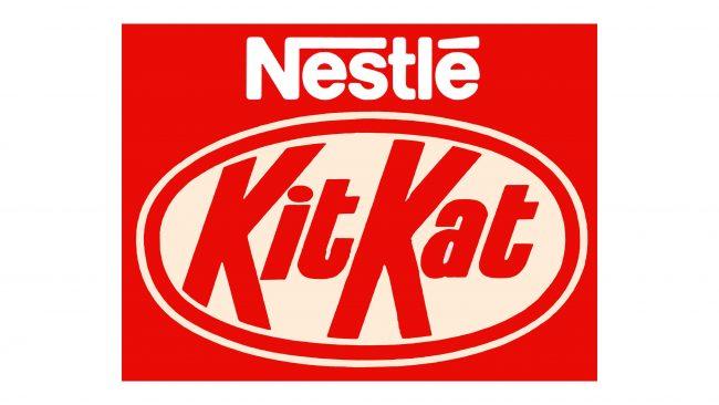 Nestlé Kit Kat Logotipo 1988-1995