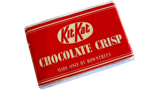 Rowntree's Kit Kat Chocolate Crisp Logotipo 1937-1945
