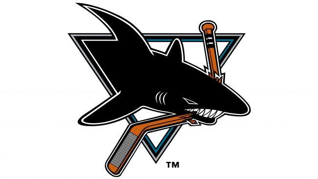 San Jose Sharks Logotipo 1998-2007