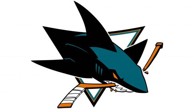 San Jose Sharks Logotipo 2008-presente