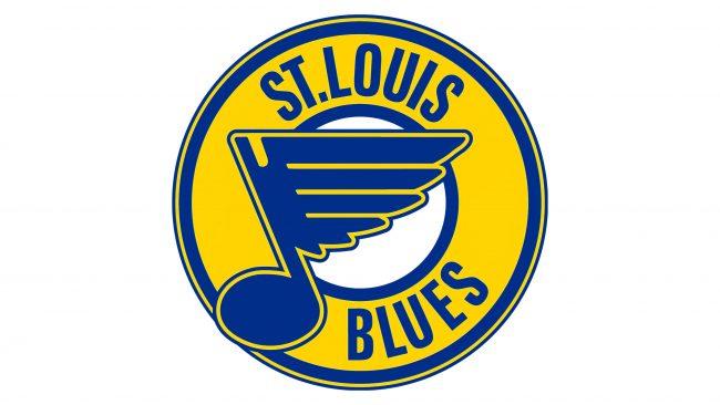 St. Louis Blues Logotipo 1978-1984