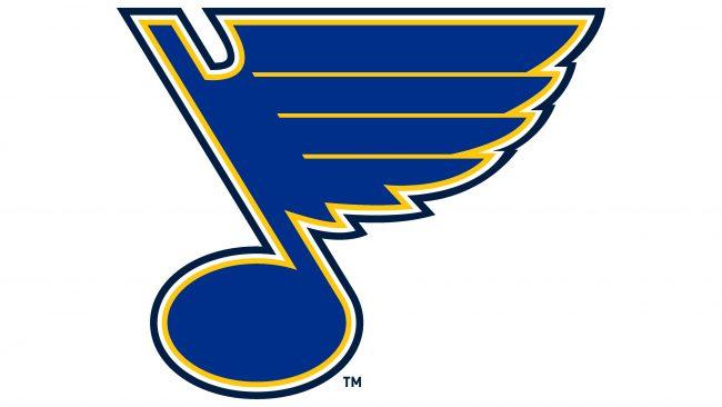 St. Louis Blues Logotipo 1999-2008