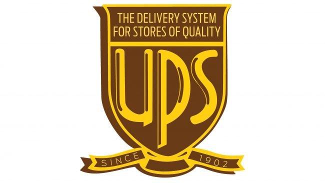 UPS Logotipo 1937-1961