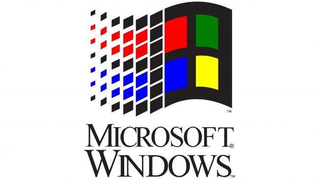 Windows 3.1x Logotipo 1992-2001