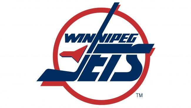 Winnipeg Jets Logotipo 1990-1996