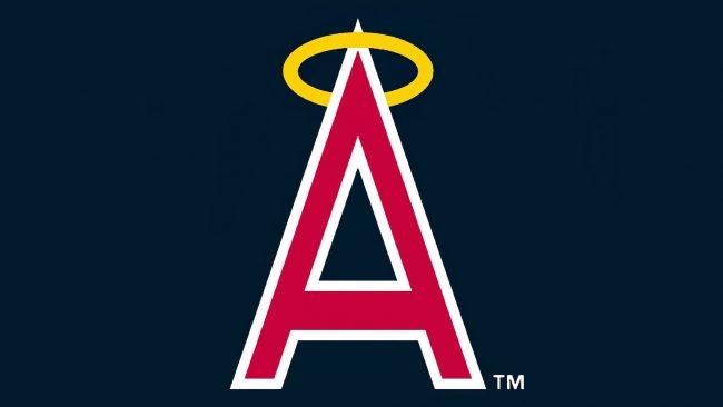 California Angels Halo-ed A logo 1972-1988