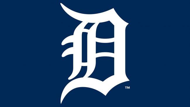 Detroit Tigers Old English D Logo