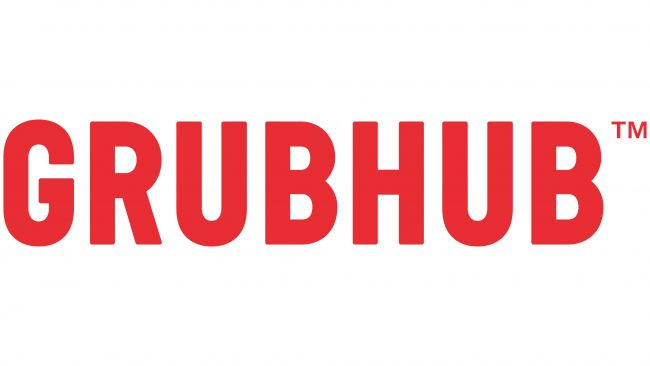 Grubhub Logotipo 2016-presente