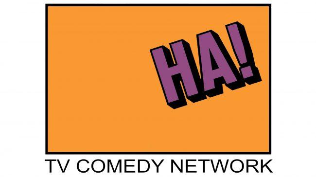 Ha! The TV Comedy Network Logotipo 1990-1991