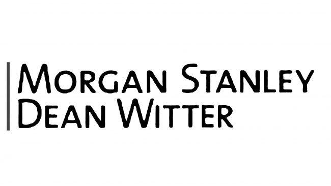 Morgan Stanley Dean Witter Logotipo 2000-2001