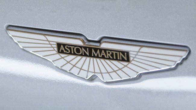 Aston Martin Logo with Wings
