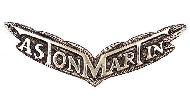 Aston Martin Logotipo 1927-1930