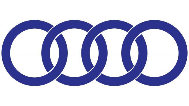 Audi Logotipo 1969-1995