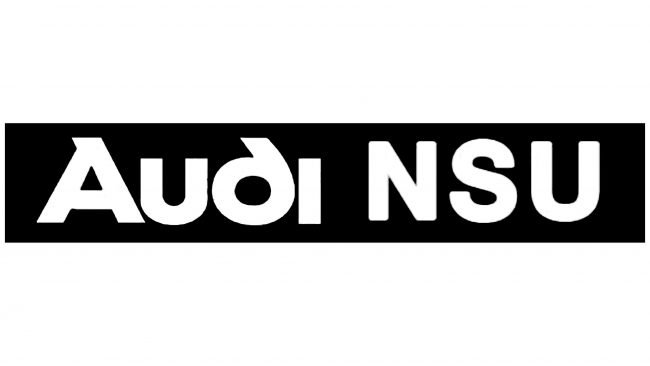 Audi NSU Logotipo 1969