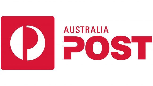 Australia Post Logotipo 2014-2019