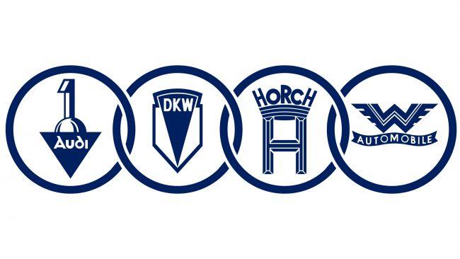 Auto Union Logotipo 1932-1949