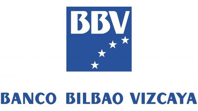 Banco Bilbao Vizcaya (BBV) Logotipo 1989-2000