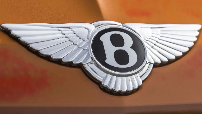 Bentley Logo with Wings