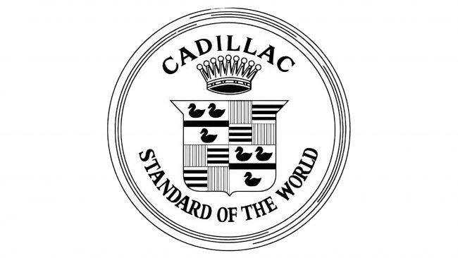 Cadillac Logotipo 1908-1914