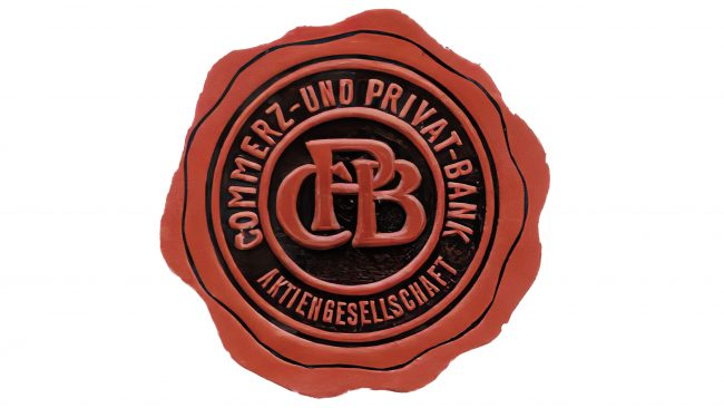 Commerz Privat-Bank Logotipo 1920-1957