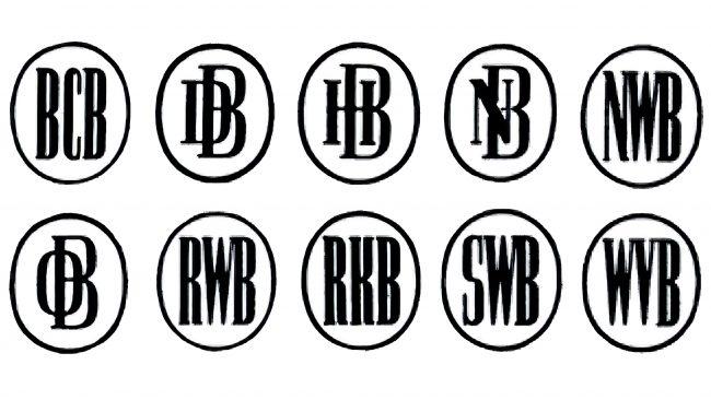 Deutsche Bank Logotipo 1947-1952