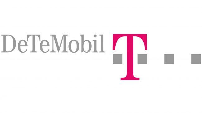 Deutsche Telekom Mobilfunk (DeTeMobil) Logotipo 1995-1996