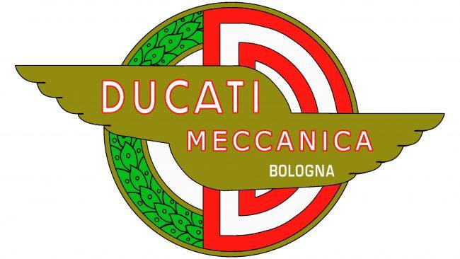 Ducati Logotipo 1958-1959