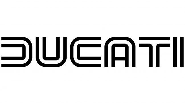 Ducati Logotipo 1977-1985