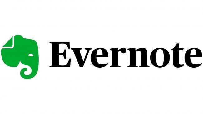 Evernote Logotipo 2018-presente