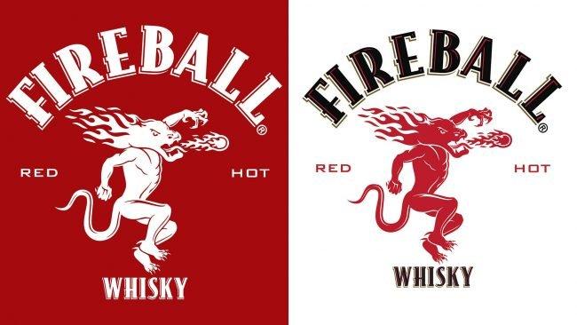 Fireball Whiskey Logo