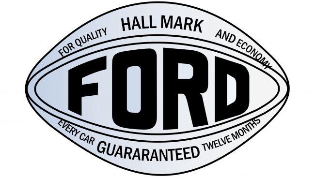 Ford Logotipo 1907-1909