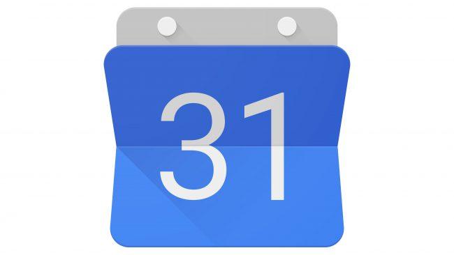 Google Calendar Logotipo 2015-2020