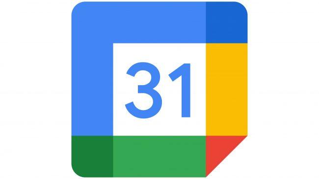 Google Calendar Logotipo 2020-presente