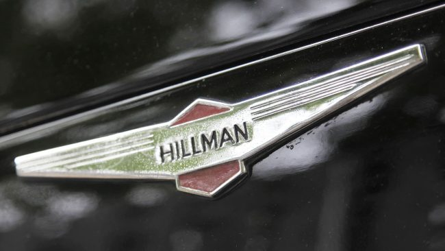 Hillman Logo with Wings