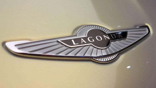 Lagonda Logo with Wings