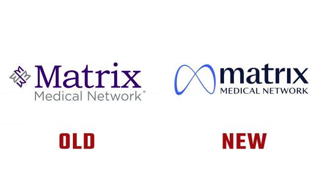 Matrix Medical Network Nuevo y Antiguo Logotipo