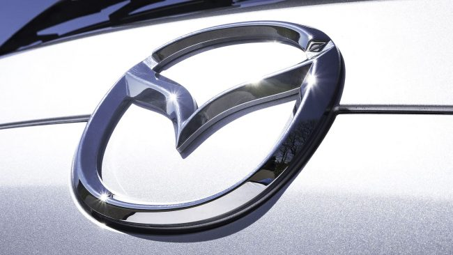 Mazda Logo with Wings