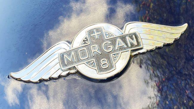 Morgan Logo with Wings