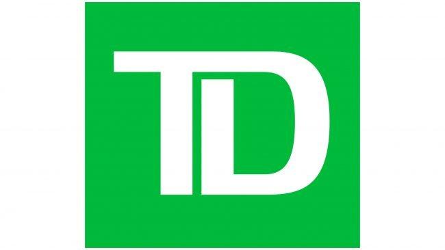 TD Toronto Dominion Bank Logotipo 2019-presente