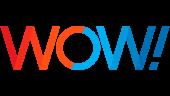 Wide Open West (WOW) Logo