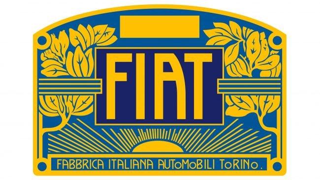 Fiat Logotipo 1903-1908