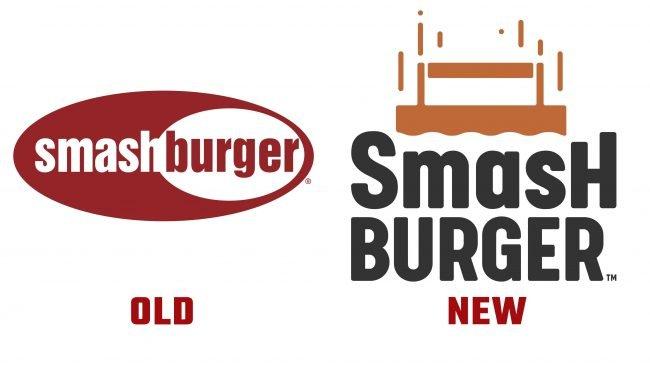 Historia del logo nuevo y antiguo de Smashburger
