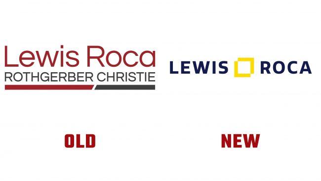 Lewis Roca Historia del logotipo nuevo y antiguo