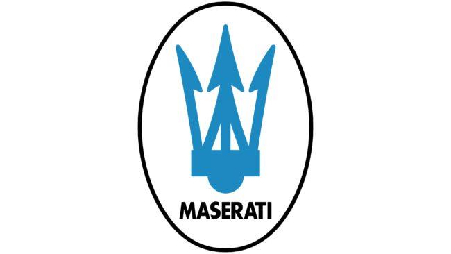 Maserati Logotipo 1983-1985