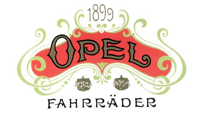 Opel Logotipo 1899-1902